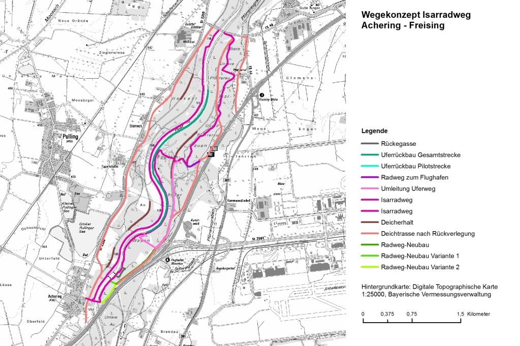 Isarradweg Karte.Forum Mittlere Isar Wasserwirtschaftsamt M Nchen